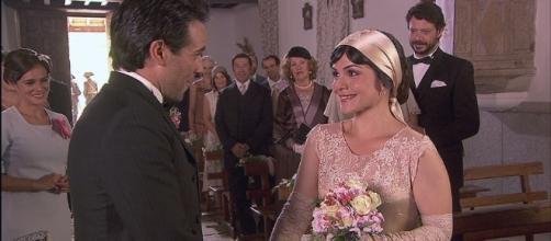 Il Segreto, Mencia si sposa con Carmelo e muore