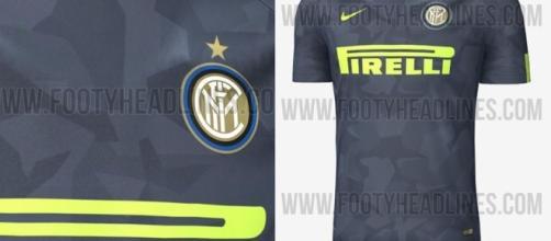 La nuova terza divisa dell'Inter