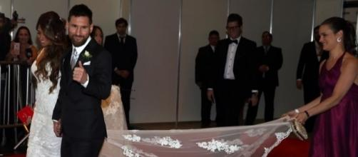 Matrimonio Messi, invitati poco generosi | Fox Sports - foxsports.it