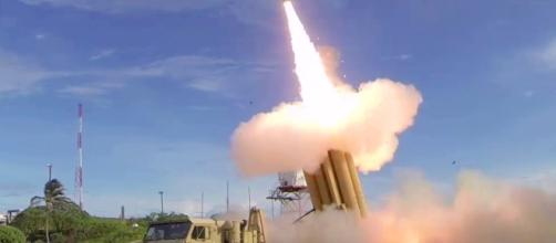 MDA's missile defense flight test. Photo via AiirSource Military, YouTube.