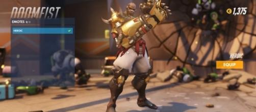 'Overwatch' hero Doomfist is now playable on the PTR (image source: YouTube)
