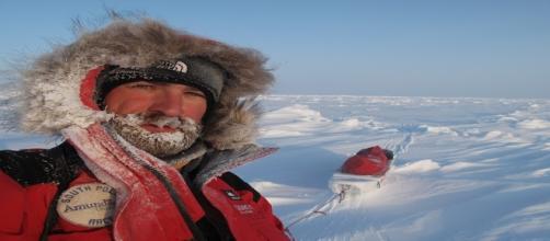 Polo Norte. Foto cedida por Jordi Canal-Soler.