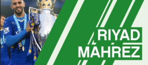 Profile of soon to be ex-Leicester talent Riyad Mahrez (Image credit FootballCoin vimeo)