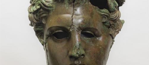 Retrato de Demetrio Poliorcetes (307-300 a.C.), de las colecciones del Museo del Prado.