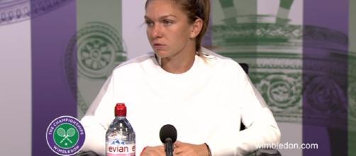 Simona Halep Wimbledon 2017 third round press conference (Image credit Wimbledon | Youtube)