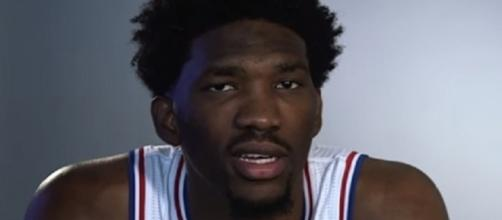 The NBA fined 76ers center Joel Embiid $10,000 for swearing at LaVar Ball – Philadelphia 76ers via YouTube