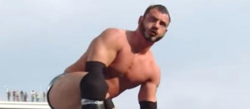 WWE Cruiserweight star Austin Aries has been released by WWE as of Friday. [Image by WWE/YouTube]