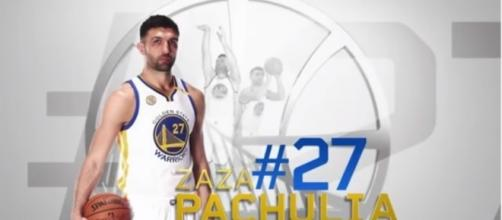 Zaza Pachulia will remain with the Golden State Warriors Youtube / SportsOMG