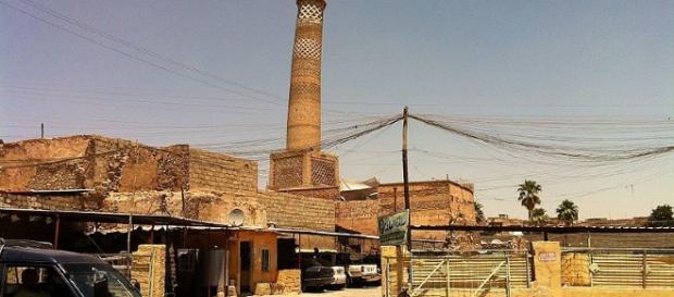 Al Nuri Mosque in Mosul (Faisal Jeber wikimedia)