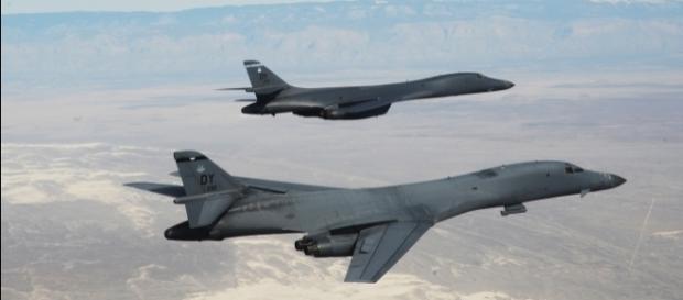 Bombardierele B-1B de la baza Andersen din Guam, au efectuat o misiune de 10 ore împreună cu avioane sud-coreene și japoneze - Foto: Wikimedia