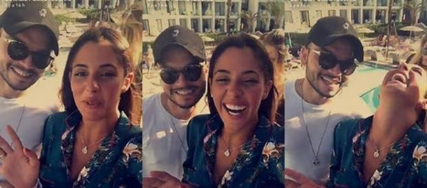 Coralie Porrovecchio et le frère de Kev Adams en vacances à Ibiza !