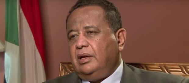 Ibrahim Ghandour, ministro degli Affari esteri della Repubblica del Sudan