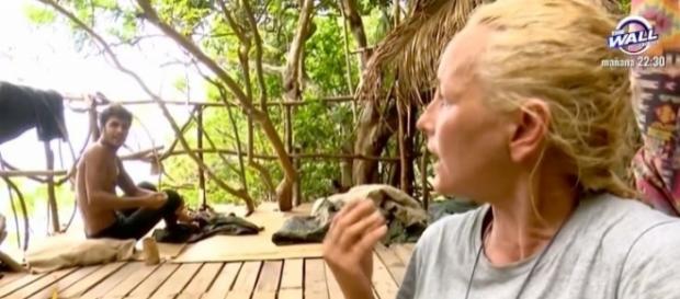 Kiko y Lucía Pariente discuten en la casita del árbol