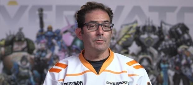 """""""Overwatch"""" game director Jeff Kaplan says that the current state of the game is balanced (via YouTube/PlayOverwatch)"""