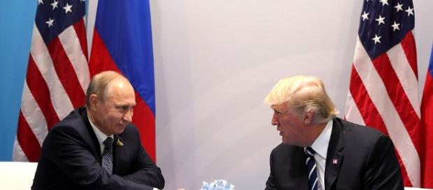 Putin and Trump (Image credit Government of Russia)