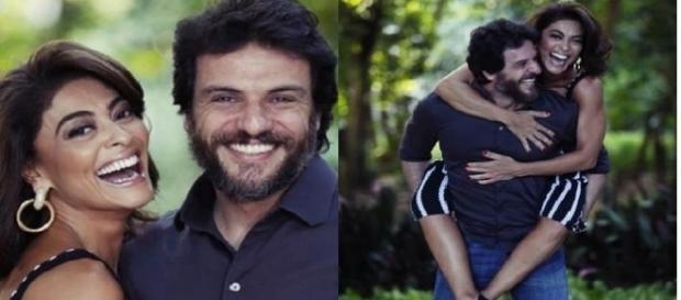 Rodrigo Lombardi e Juliana Paes, química perfeita na telinha e fora dela