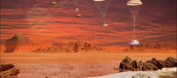 Scientists have measured the waves on Titan's methane lakes - Photo: NASA