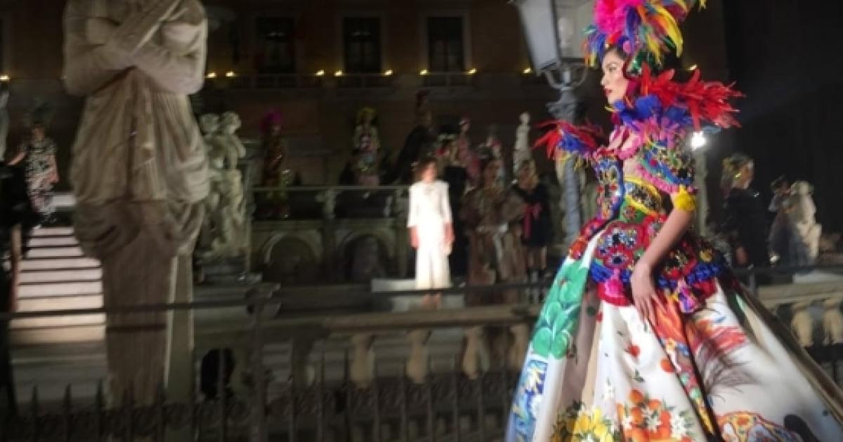 Palermo  città della moda per Dolce Gabbana ce357eee2af