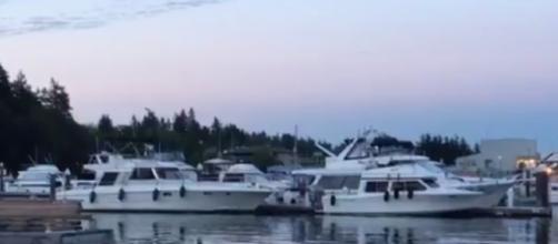 Active shooting Bainbrdge Eagle Harbor (Image credit K Drew Komo Twitter)