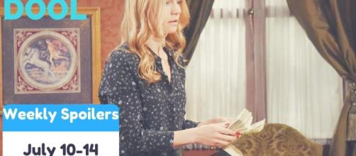 'Days of our Lives' spoilers: Abigail warned by Hope, blackmailed by Dario(Soaps On/YouTube Screenshot)