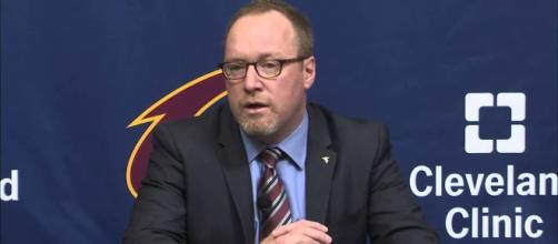 Former Cavaliers GM talking with New York Knicks about job vacancy - Photo: YouTube (FOX Sports Ohio)