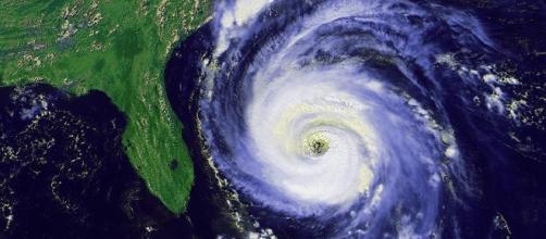 Hurricane off the Florida coast (Image credit gov NOAA)
