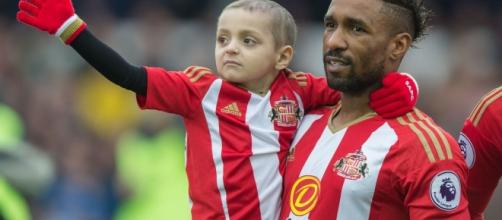 Jermain Defoe pays emotional tribute to Bradley Lowery in open ... - mirror.co.uk