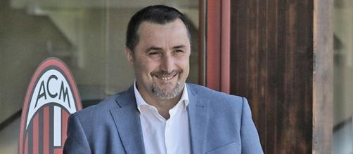 Massimiliano Mirabelli, dirigente sportivo del Milan
