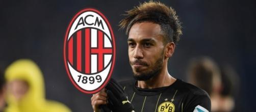 News calciomercato Milan Aubameyang
