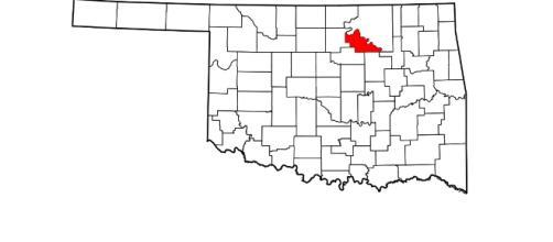 Pawnee County, OK. - photo via Wikimedia.org