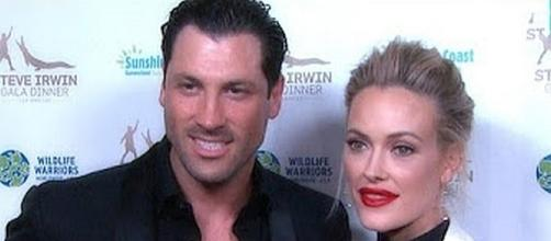 Pro dancers, Peta and Maks, got married on July 8 [Image: YouTube screen shot]