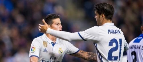 Real Madrid: Une somme folle proposée pour Morata et James!