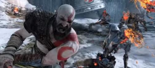 """Sta. Monica Studio reveals latest details on the major gameplay feature in """"God of War."""" Credit Image: PlayStation/YouTube"""