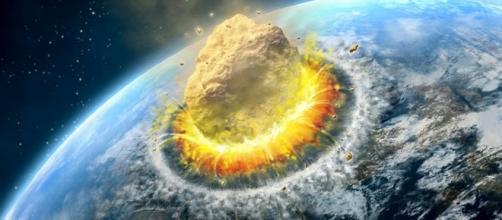 Un gran asteroide que chocará con el planeta