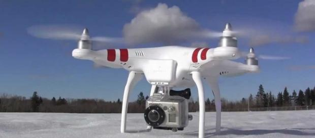 A drone is believed to have delivered a wire cutter to a South Carolina prison. Photo credit Giizmag, YouTube.