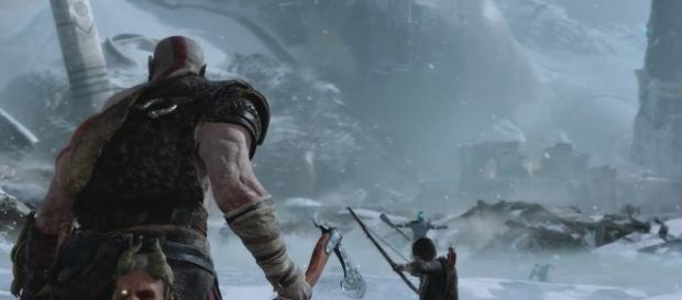 """God of War 4"" is a PlayStation 4-exclusive title slated to arrive in early next year (via YouTube/PlayStation)"