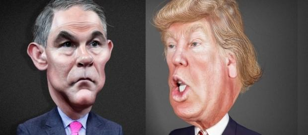 Scott Pruitt and Donald Trump / [Image by DonkeyHotey via Flickr, CC BY 2.0]