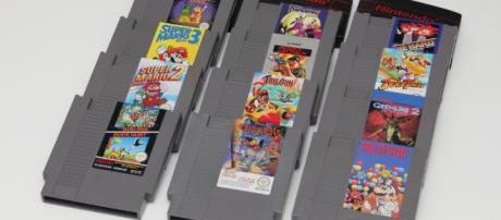 NES cartridges. Bring back those memories - Flickr, hades2k