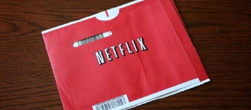 An old CD envelop from Netflix - https://www.flickr.com/photos/hinnosaar/2655128664/