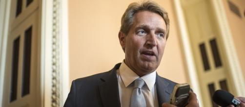 Arizona senator Jeff Flake says Republicans are in denial (via politico.com)