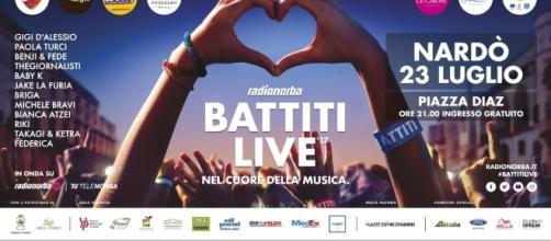 Battiti Live 2017 Nardò | Cantanti 23 luglio | Scaletta - blogosfere.it