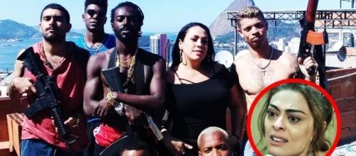 Bibi Perigosa posta foto com traficantes na internet