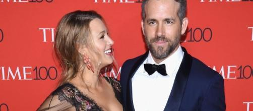 """Blake Lively is madly in love with husband Ryan Reynolds """"most of the time. -[Image source: Youtube Screen grab]"""