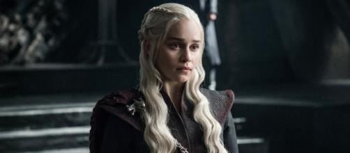 "Daenerys Targaryen, no episódio ""The Queen's Justice"""