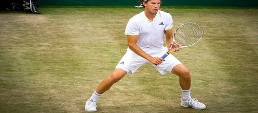 Dominic Thiem during 2017 Wimbledon/ Photo: Gregg Gorman via Flickr CC BY 2.0