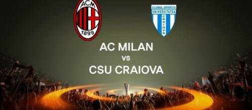 Europa League Milan-Craiova ecco le formazioni ... - superscommesse.it