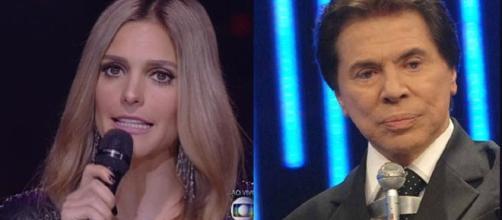 Fernanda Lima e Silvio Santos se envolveram em polêmica
