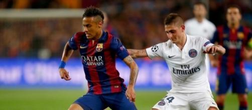 FOTO] Neymar se lo piensa para ir al PSG y Verratti lo apoya ... - com.ec