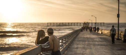 Free photo: Couple, Relationship, Pier, Sunset - Free Image on ... - pixabay.com