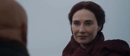 'Game of Thrones': the Varys and Melisandre scene. Screencap: Proclaimed Youtuber via YouTube